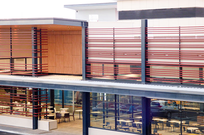 Stockland shopping centre arcadia group for Lotus operable walls